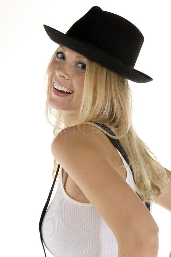Retro Blonde fotografie stock libere da diritti
