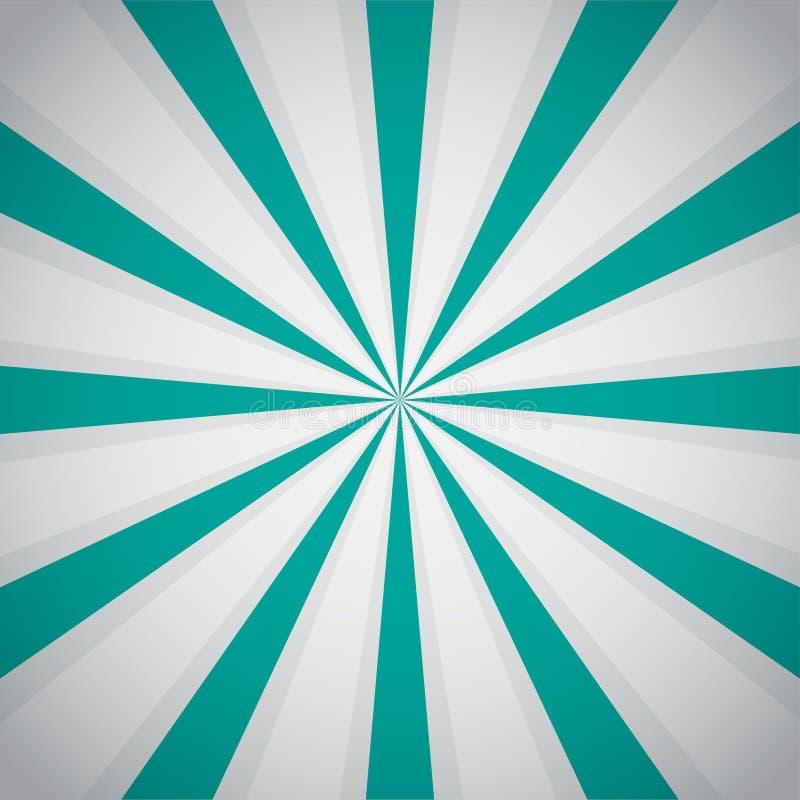 Retro blue background ray and stylish illustration. Vector illustration eps10 royalty free illustration