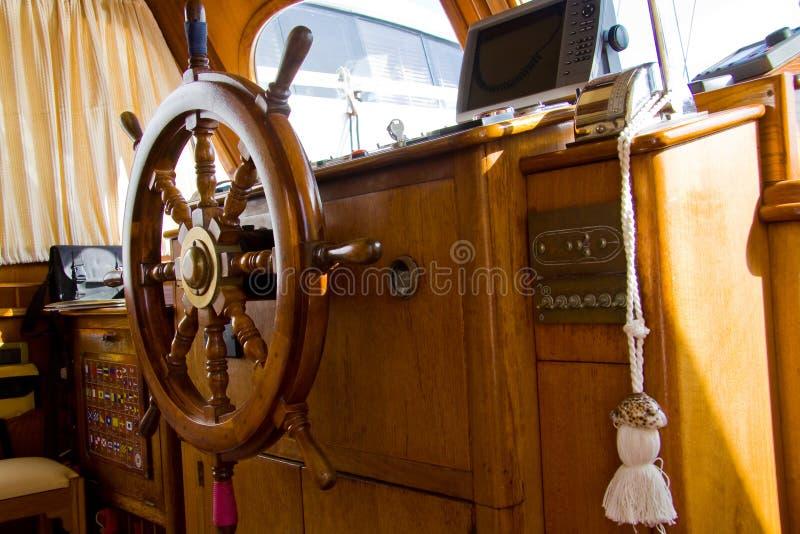 Download Retro boat stock photo. Image of wood, panel, helm, lifestyles - 34128440