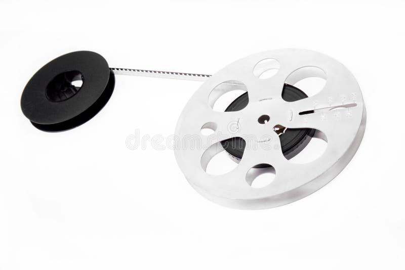 Retro bobine di pellicola fotografie stock