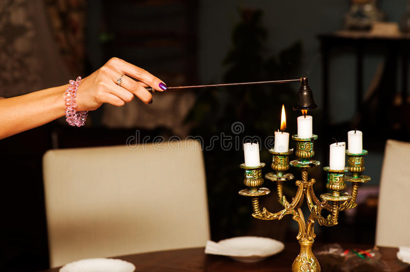 Download Extinguishing candles stock photo. Image of flame, nails - 29921734