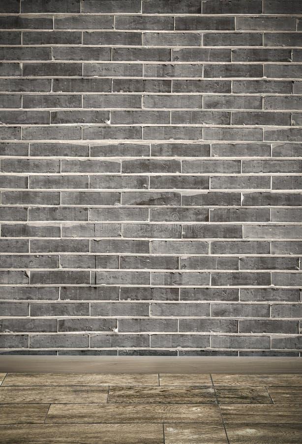 Retro brick wood royalty free stock images
