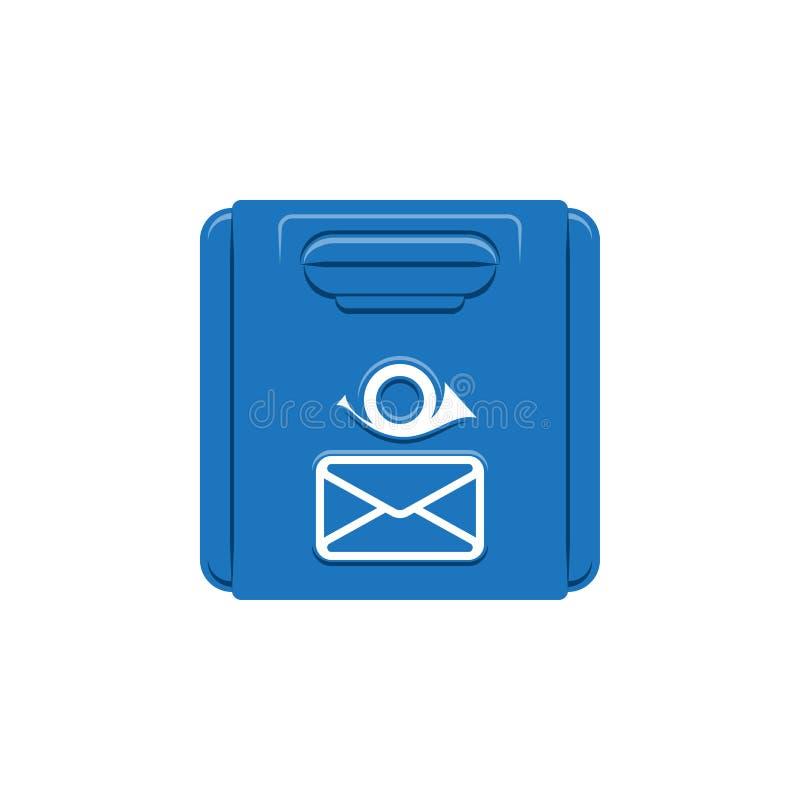 Retro brievenbus stock illustratie