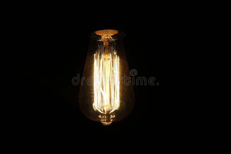 Retro Bulb stock photo