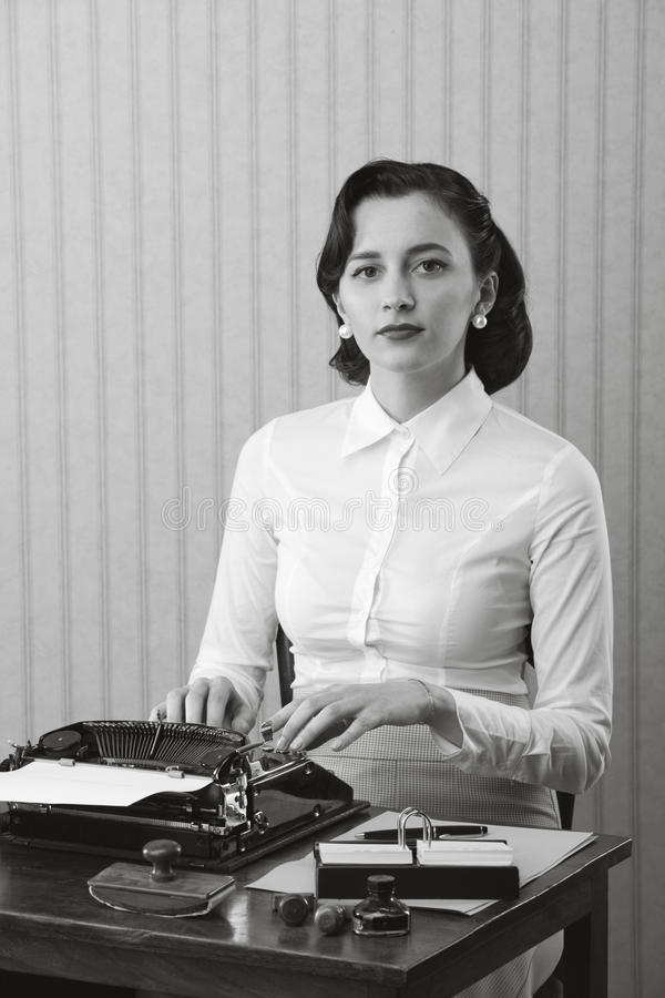 Download Woman typing in her office stock photo. Image of style - 29856232