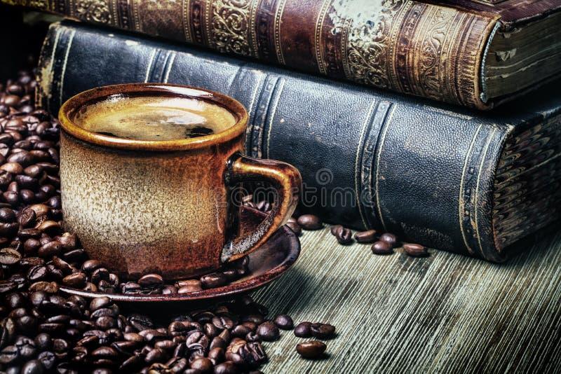 Retro caffè immagini stock