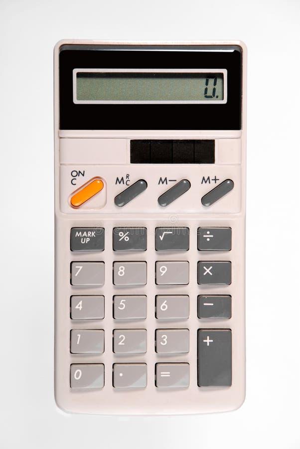 Retro calculator royalty-vrije stock afbeeldingen