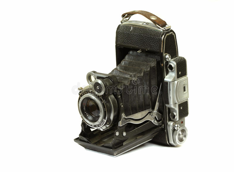 Retro camera stock afbeelding