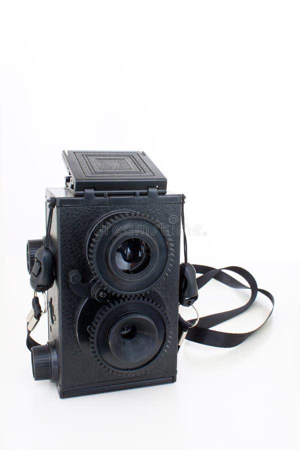 Download Retro camera stock photo. Image of shoulder, reporters - 23948692