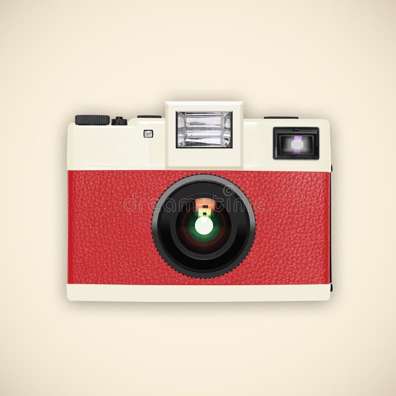 Retro camera. Retro and vintage camera ,graphic design stock illustration