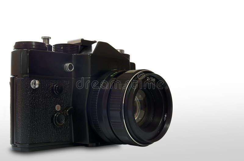 Retro SLR-Camera stock fotografie