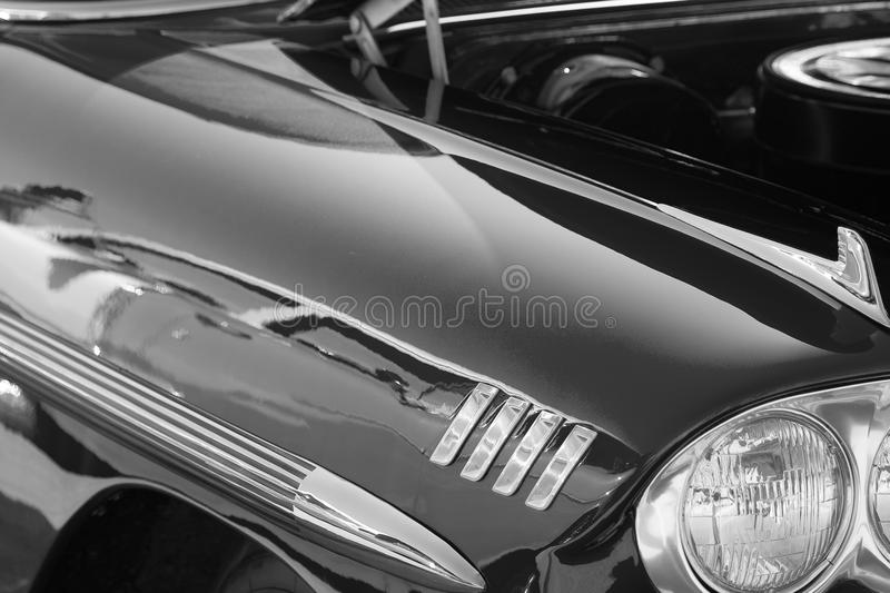 Retro Car Stock Photo