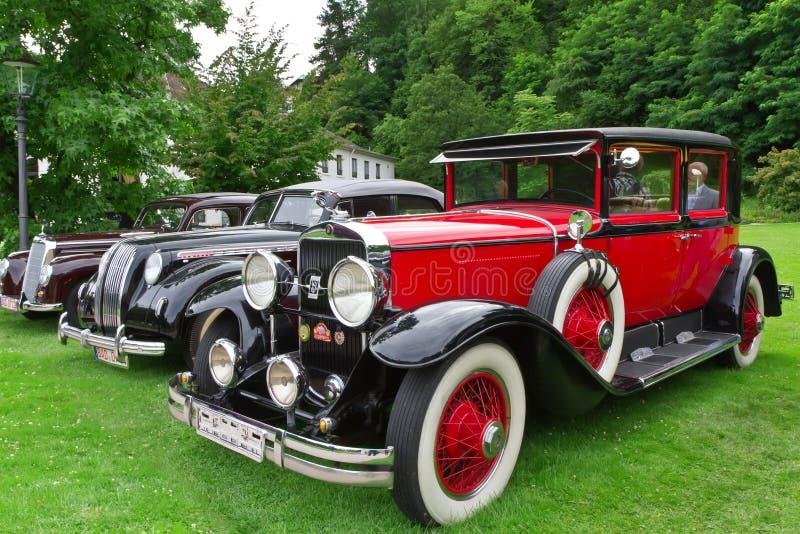 Retro car. stock photo