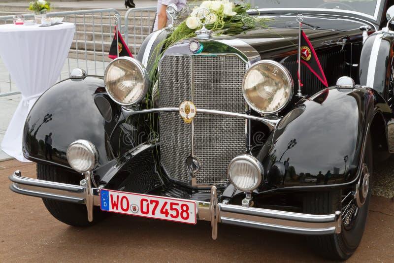 Retro car. royalty free stock photos