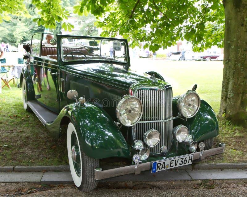Retro car. stock image