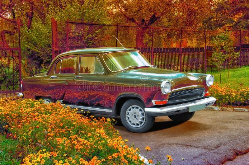 Download Retro car stock photo. Image of fresh, front, elegance - 26813858