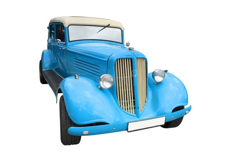 Download Retro car stock image. Image of travel, auto, blue, vintage - 7911207