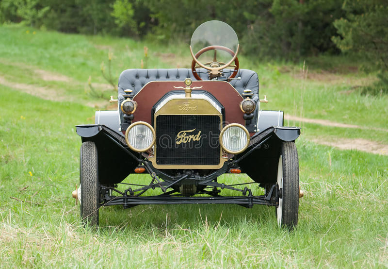 Retro car Ford T model 1908 stock photos