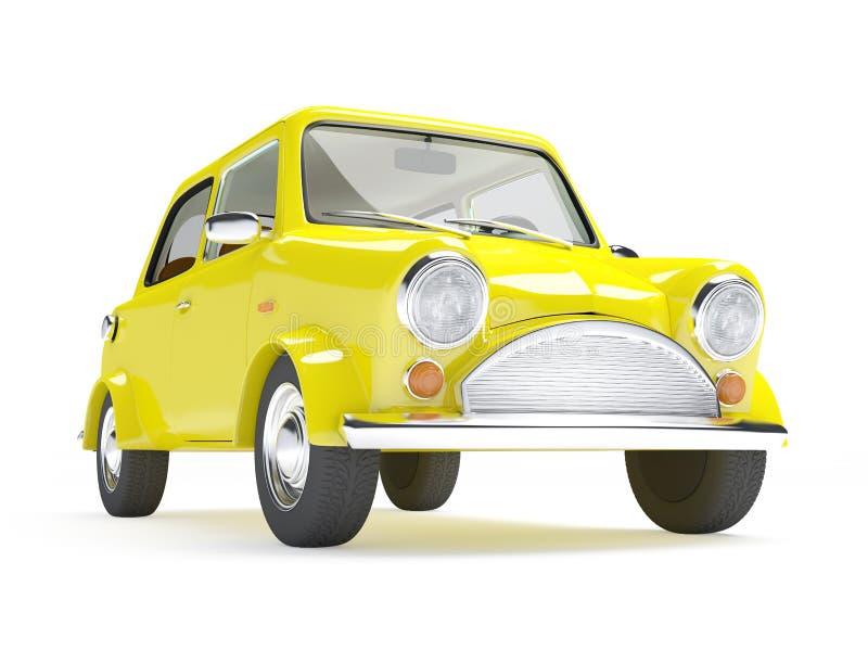 Download Retro car mini stock illustration. Image of taxi, nostalgia - 33944156