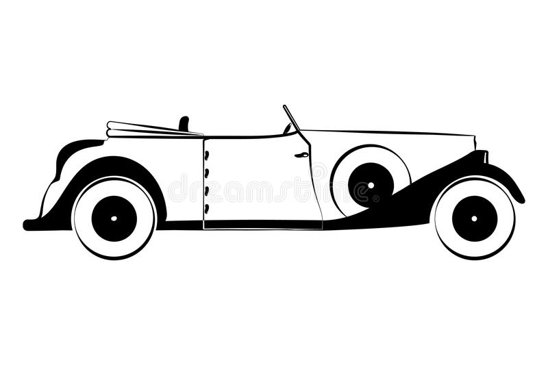 retro car sketch stock vector illustration of sketch 59480977 rh dreamstime com vintage race car vector vintage car vector free
