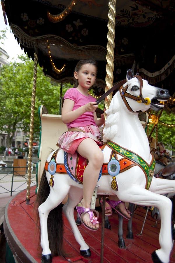 Download Retro carousel stock photo. Image of horse, carousel - 18314464