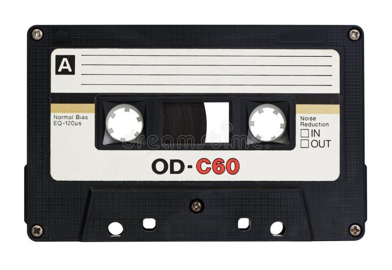 Retro cassette royalty-vrije stock afbeelding