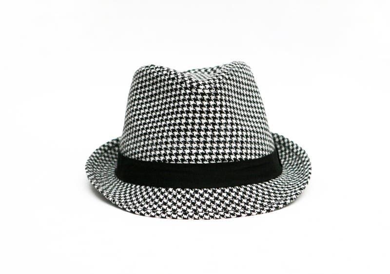 Download Retro Checkered Fedora Hat stock photo. Image of dandy - 22474886