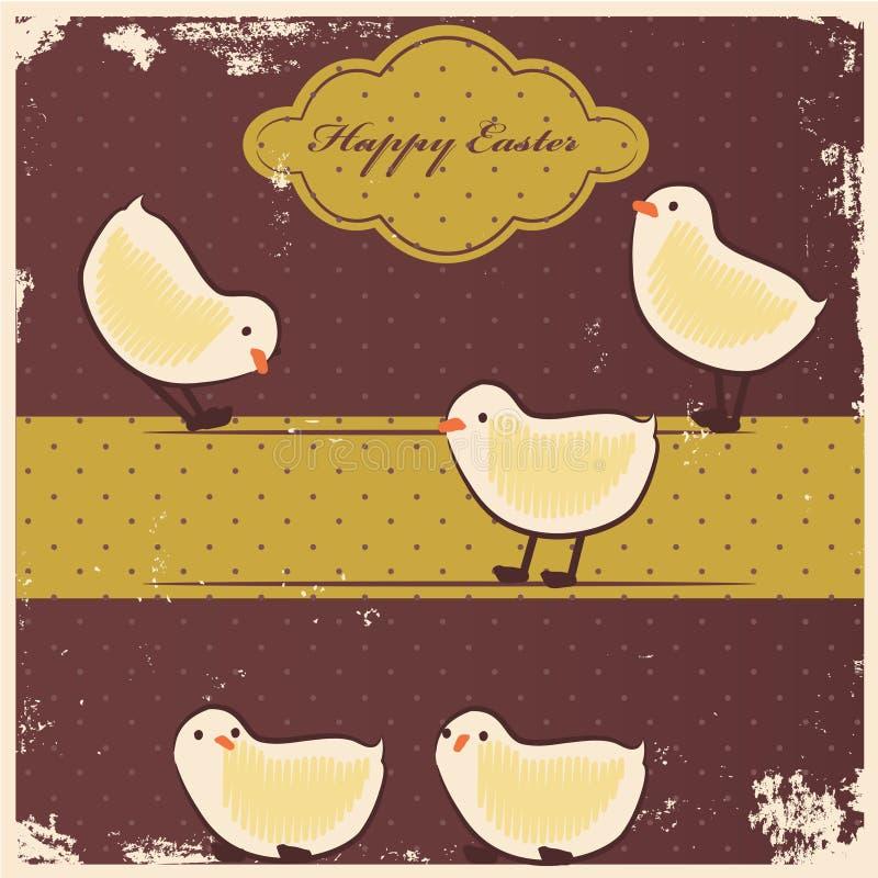 Download Retro chicks stock illustration. Illustration of colorful - 29168670