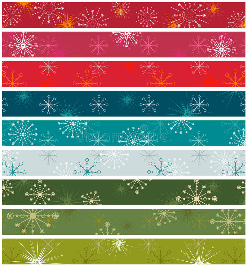 Retro christmas vector illustration