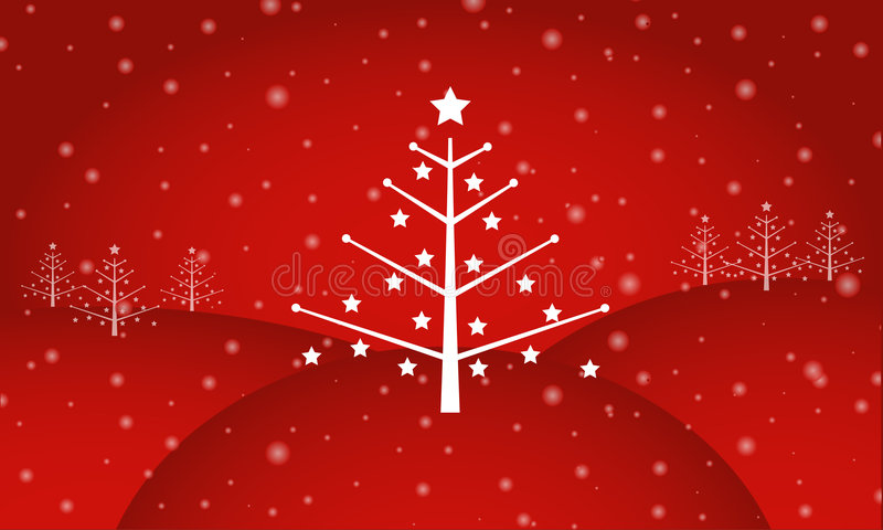 Retro Christmas royalty free stock photography