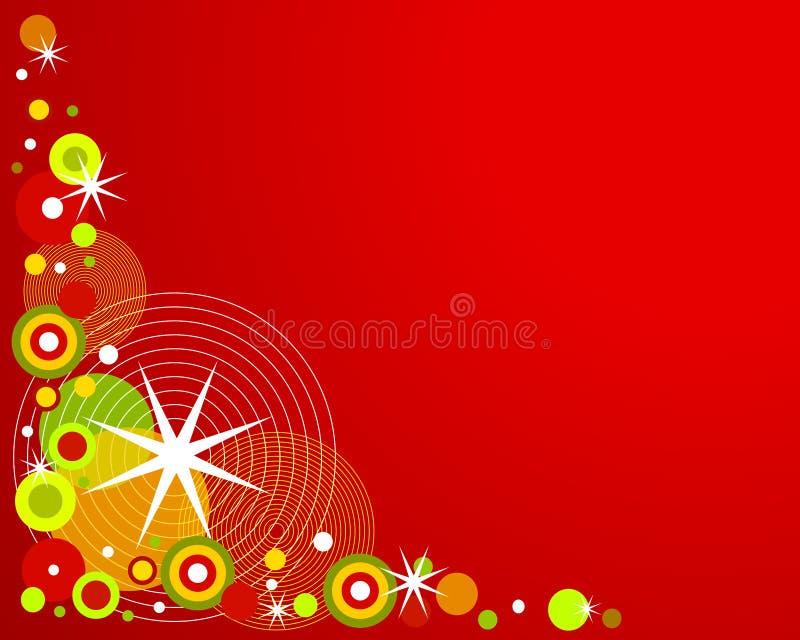 Download Retro Christmas Background 2 Stock Illustration - Image: 3440292