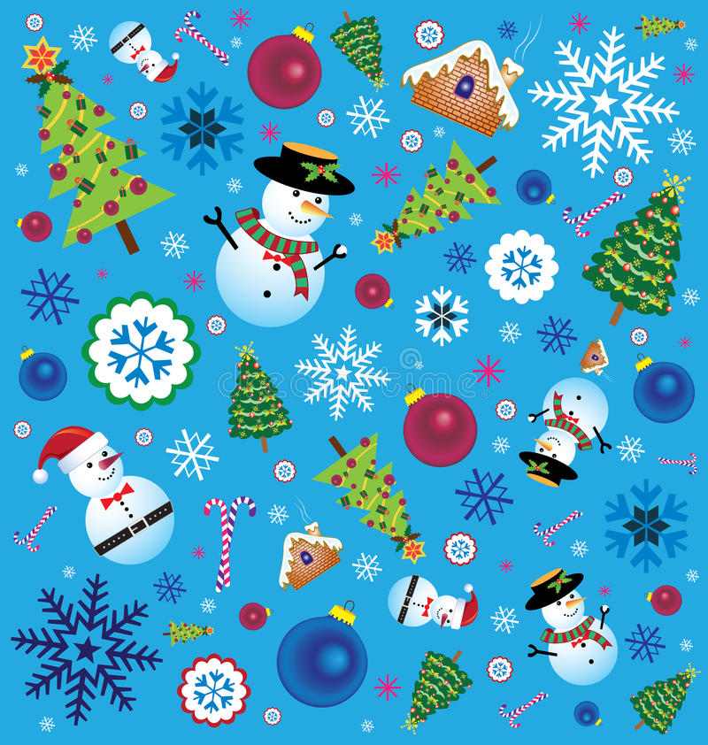 Download Retro Christmas Element stock vector. Image of merry - 43226366