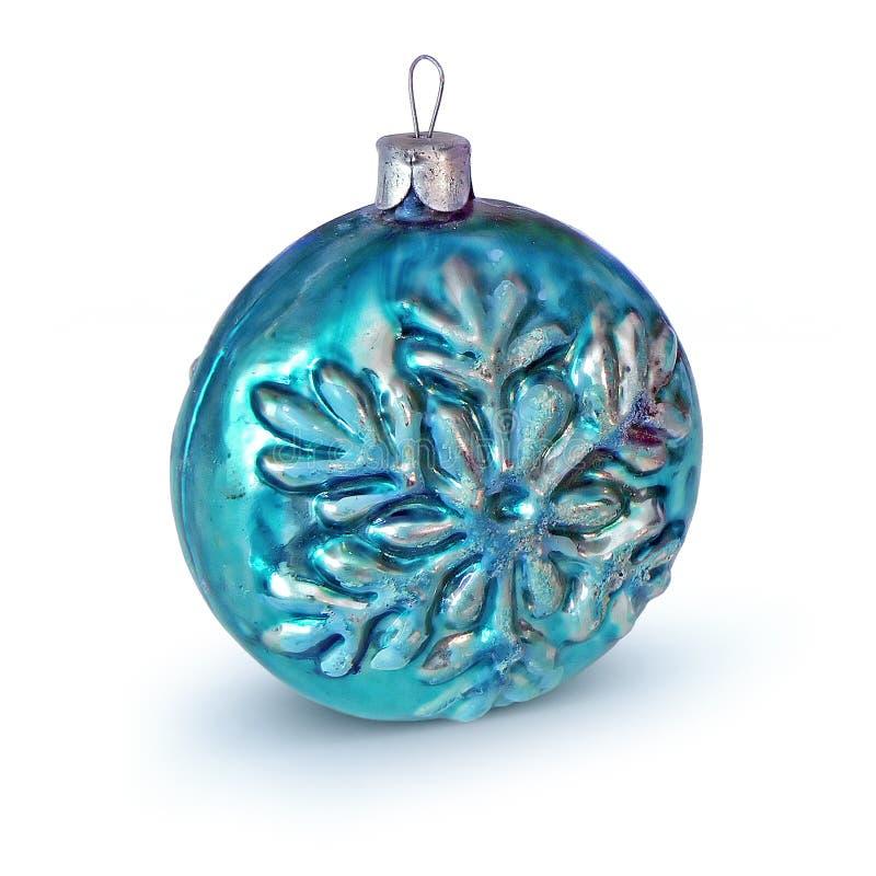 Retro Christmas-tree decoration stock photography