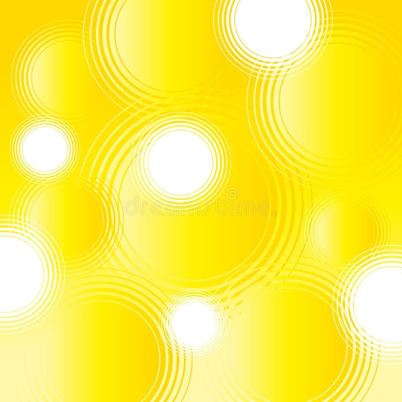 Retro circles vector illustration