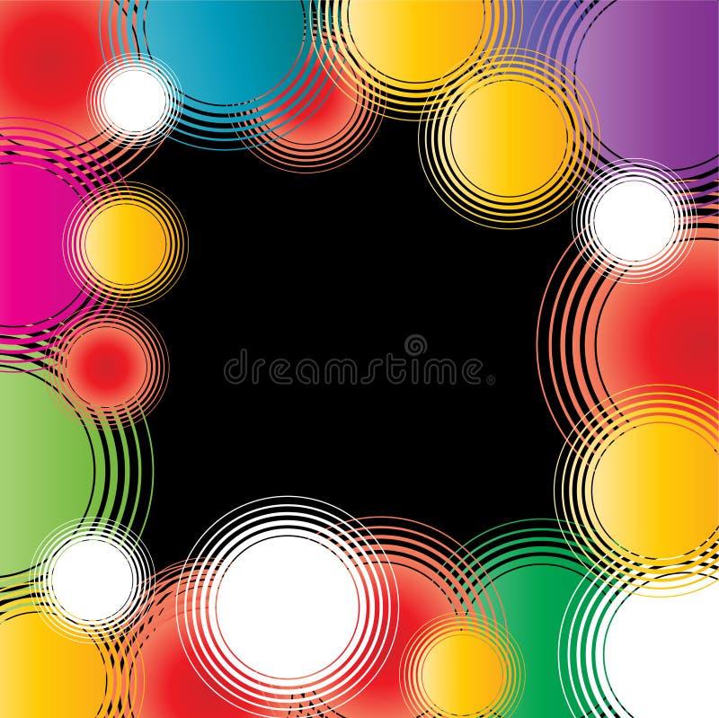 Download Retro circles stock vector. Illustration of retro, beautiful - 2957427