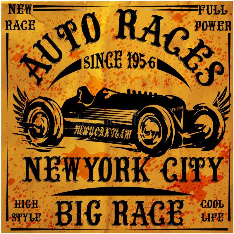 Retro Classic Car Vintage Graphic Design vector illustration