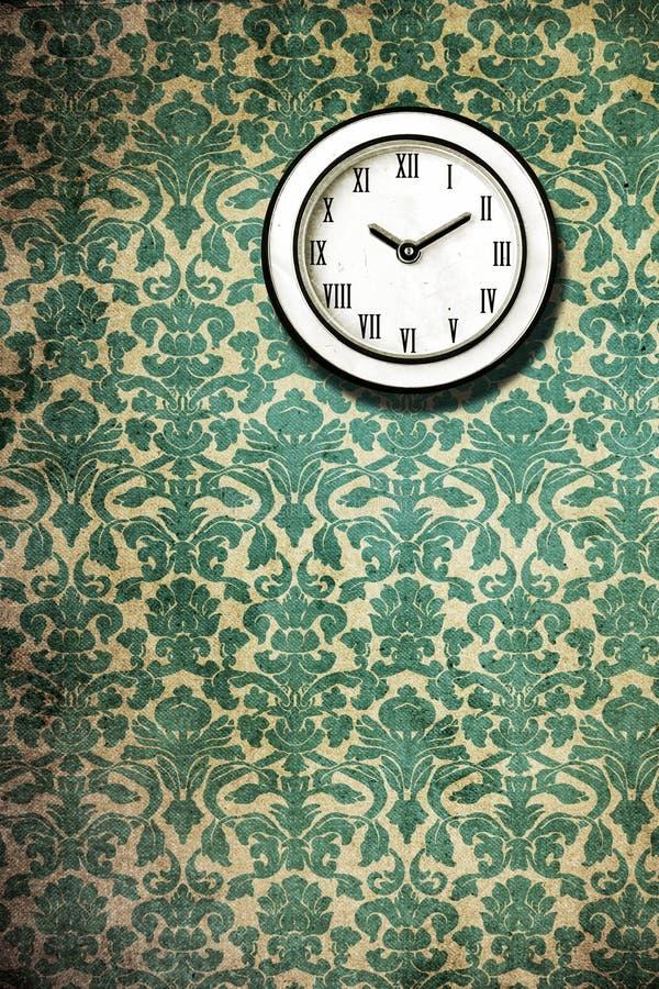 Download Retro Classic Wall Clock Wallpaper Stock Photo
