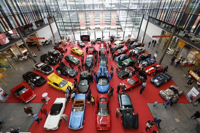 Retro classici Stuttgarts 2019 fotografia stock libera da diritti