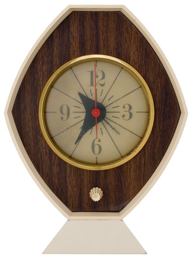 Retro clock 1 royalty free stock image