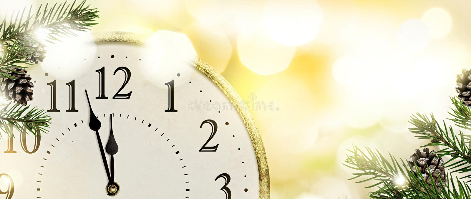 New Year`s Eve background. royalty free stock photo