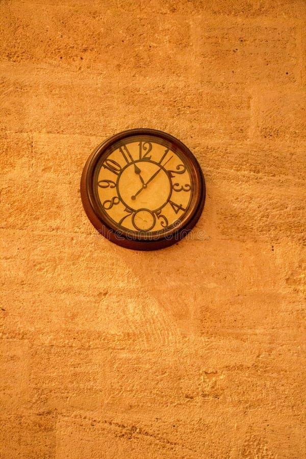 Retro clocks and mechanism royalty free stock photo