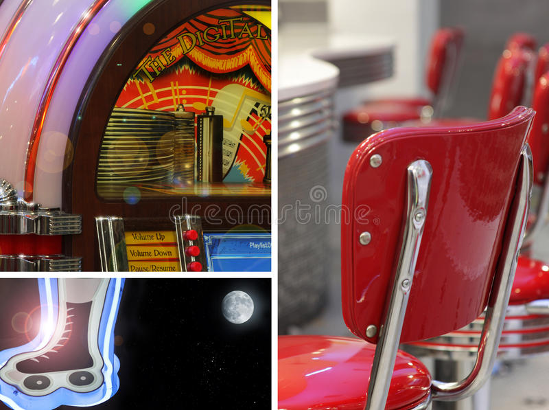 Download Retro Collage stock photo. Image of barstool, culture - 10915920