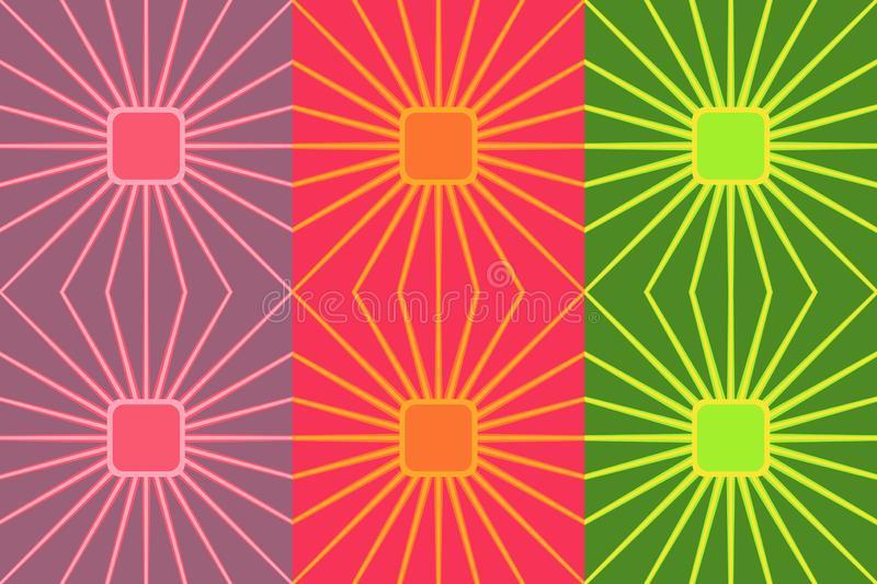 Retro colorful seamless pattern. Simple vector ornament for textile, prints, wallpaper, wrapping paper, web etc. Available in EPS vector illustration