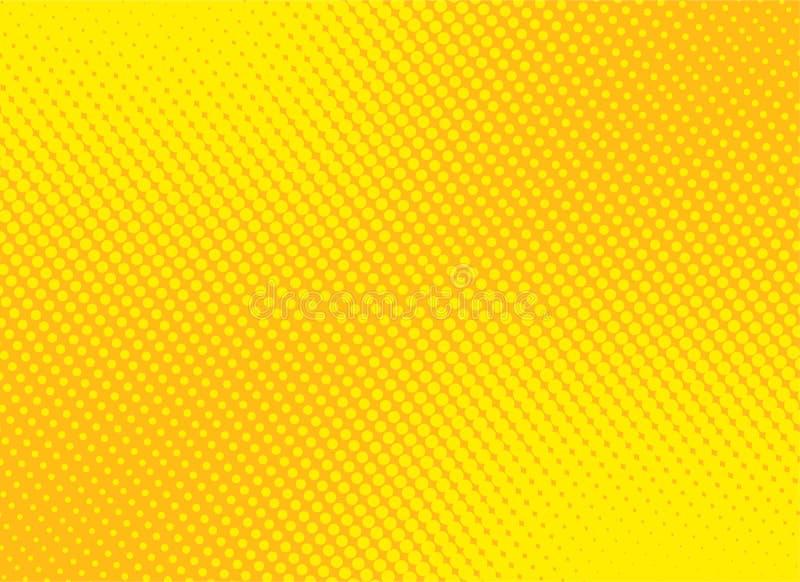 retro comic yellow background raster gradient halftone, stock vector illustration eps 10 vector illustration