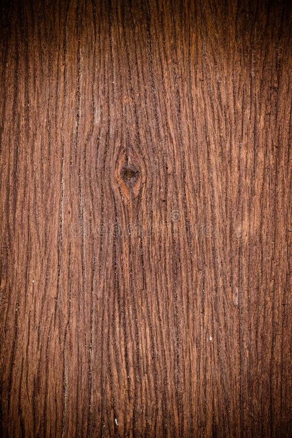Retro dark brown wooden texture. Old interior wood surface background royalty free stock photos