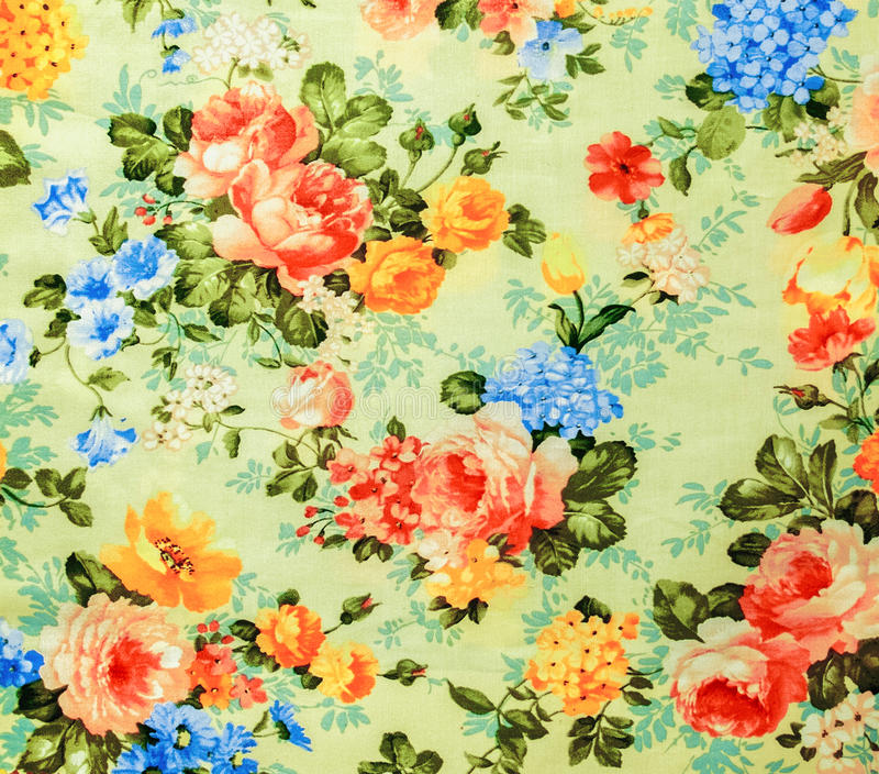 Retro de Stoffen van het Kant Bloemen Naadloze Patroon Beige Uitstekende Stijl Als achtergrond royalty-vrije stock afbeelding