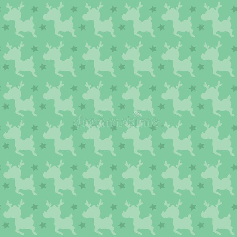 Download Retro deer pattern stock vector. Image of minimalist - 32348316