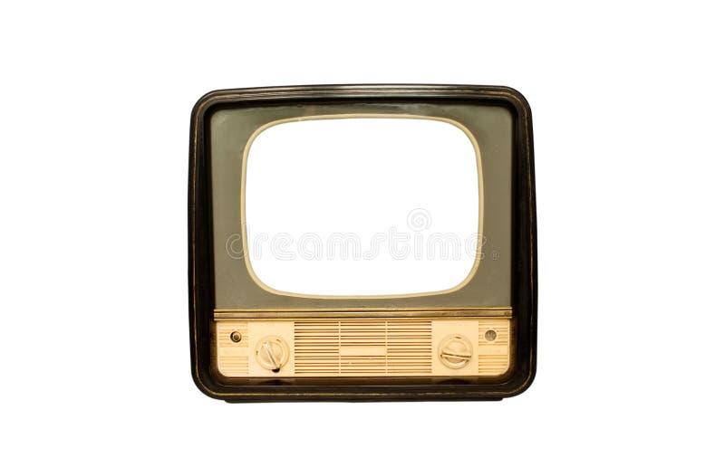 Retro- der Fernsehapparat stockfotografie