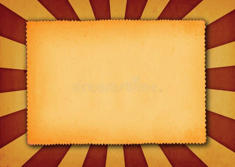 Retro document achtergrond vector illustratie