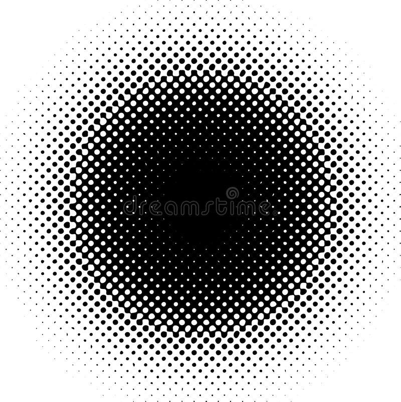 Retro Dots Royalty Free Stock Photo